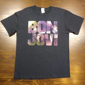"Bon Jovi 2013 ""Because We Can Tour"" Concert Shirt"